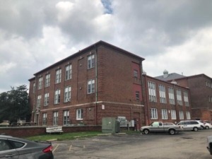 Former school in Shelbyville, Indiana that was rehabilitated into affordable apartments