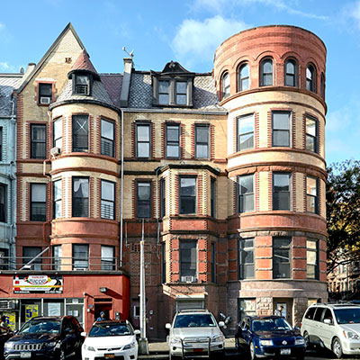 Historic building in New York City renovated using tax credits