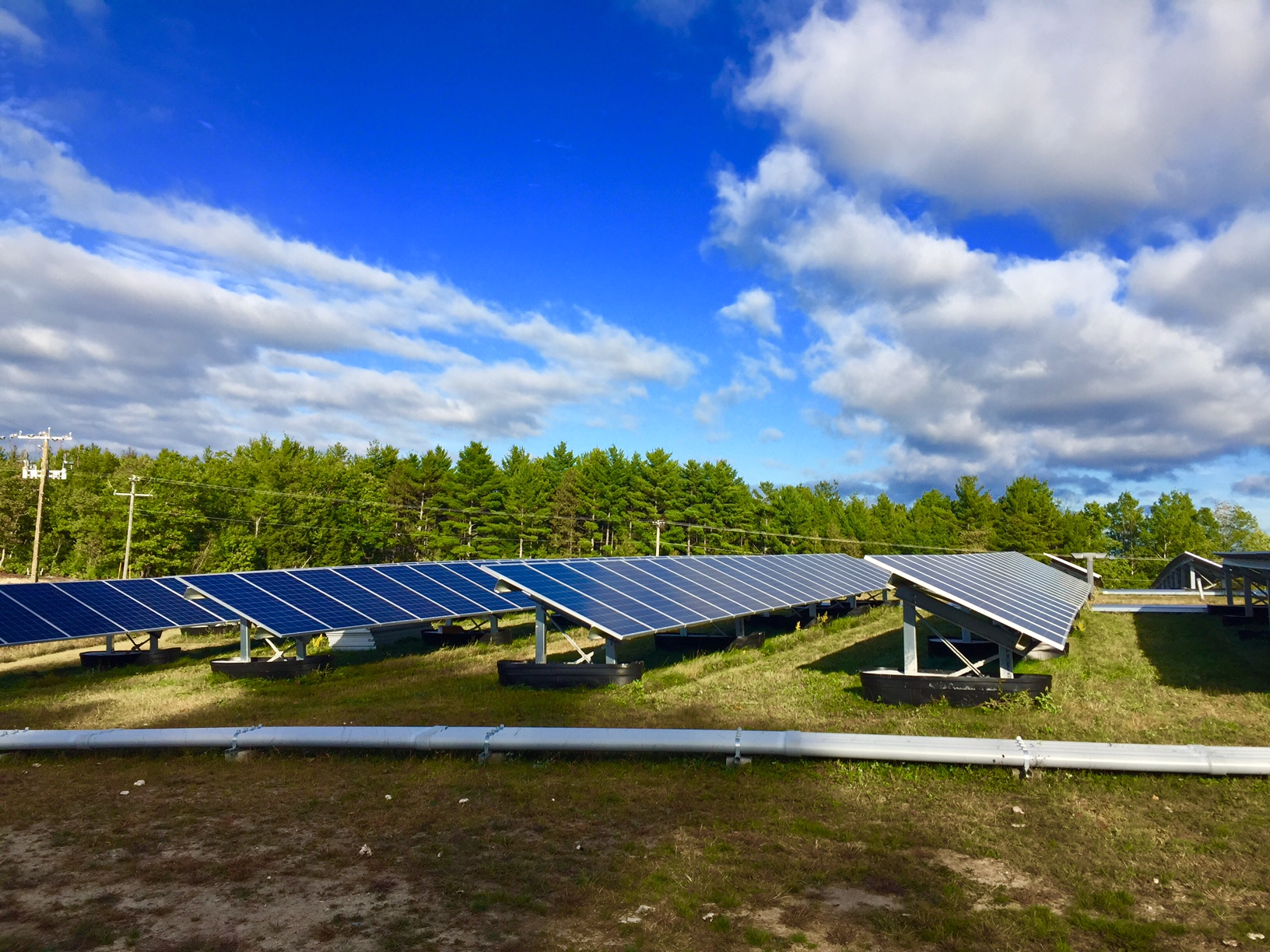 Solar field renewable energy project