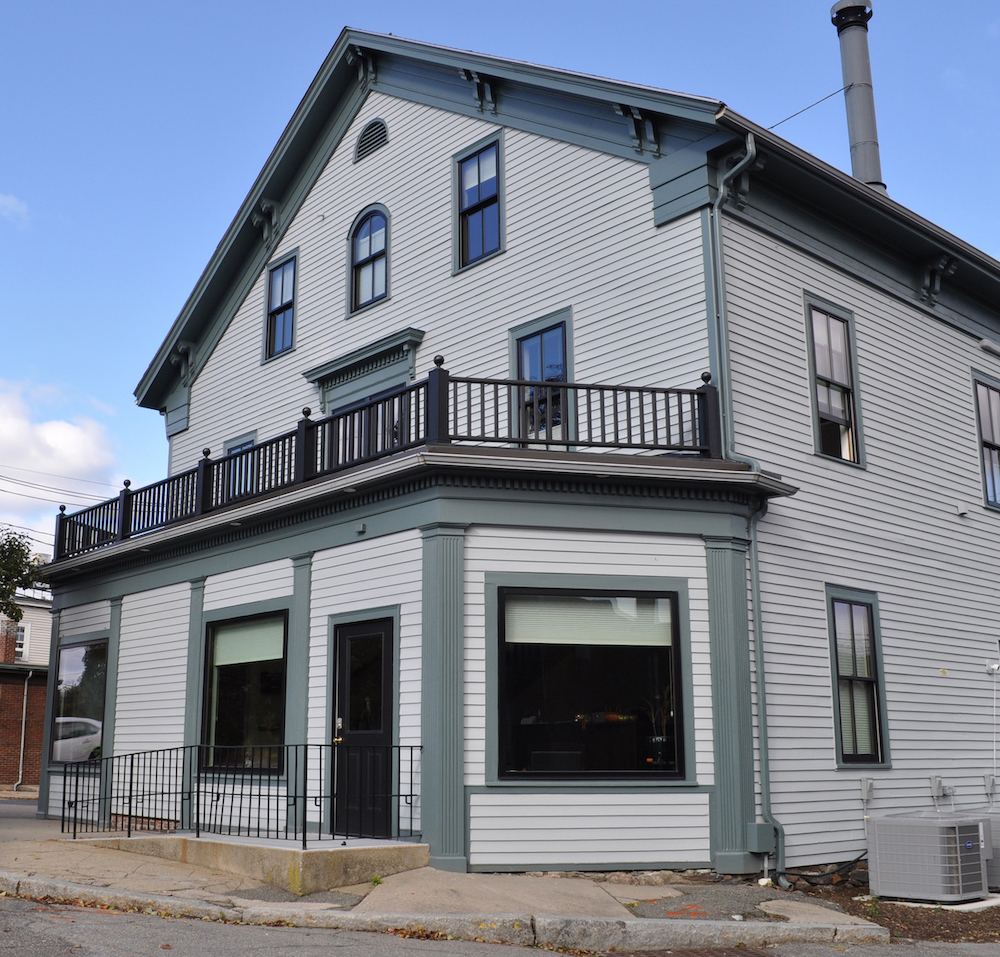 Cherrytree Groups historic office restoration in Newton